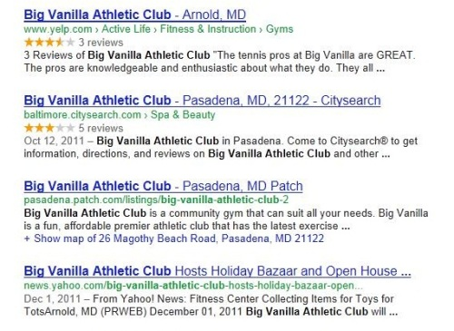 Big Vanilla Athletic Club